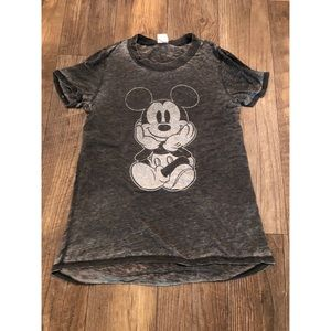 Mickey Mouse burnout tshirt